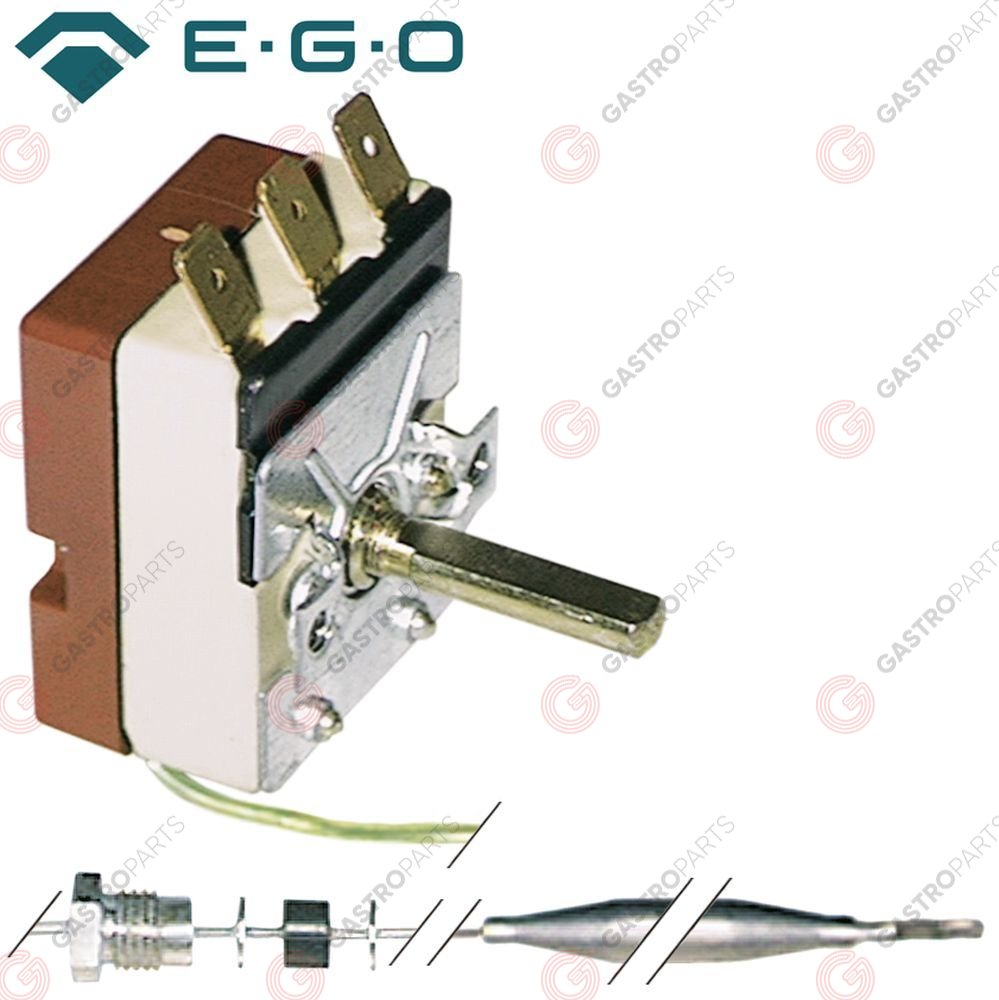390.036, Replaced by 375400 / thermostat t.max. 90°C temperature range 30-90°C1-pole