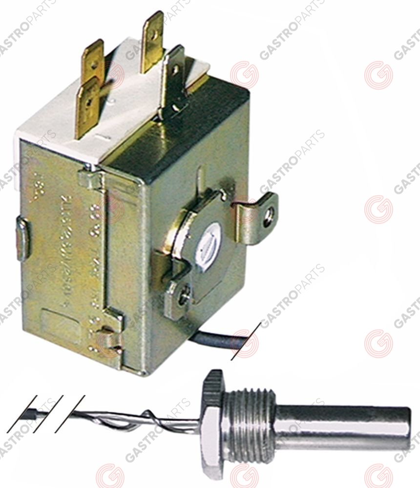 390.310, thermostat t.max. 85°C temperature range fixed 55°C 1-pole 1CO 16A
