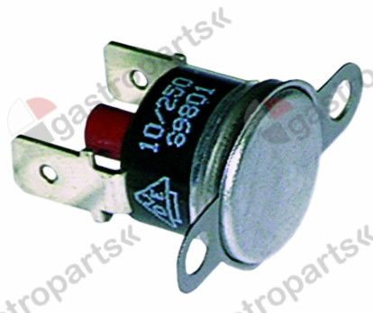 390.318, Replaced by 390461 / 550388 / bi-metal safety thermostat switch-off temp. 95°C1-pole 2 hole fixing