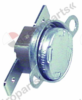 390.319, bi-metal thermostat hole distance 23,5mm switch-off temp. 80°C 1NC 1-pole 16A