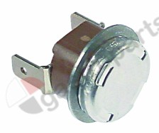 390.396, bi-metal thermostat switch-off temp. 92°C 1NC connection F6.3