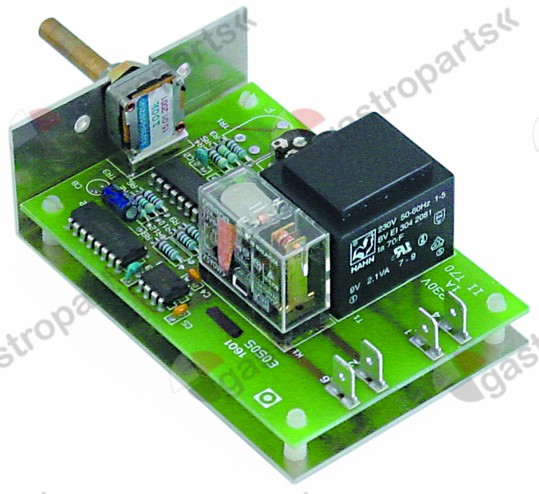 400.016, PCB pulse timer for steaming with mounting angle