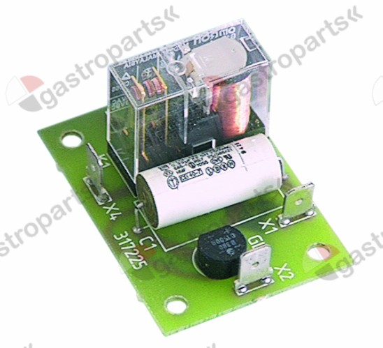 400.027, relay PCB vario cooker 516678 with relay output