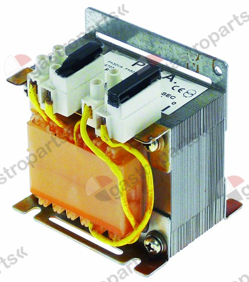 400.203, transformer primary 230V secondary 24V 30VA H 64m