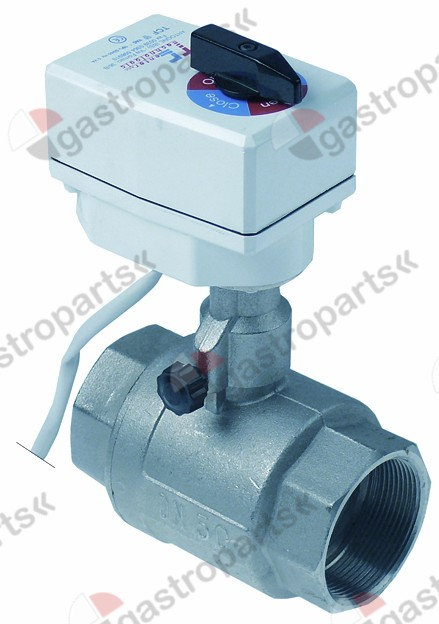 400.242, ball valve inlet 2  IT outlet 2  IT 230V