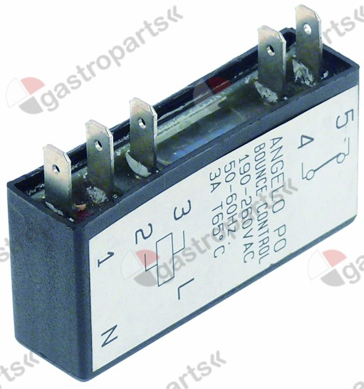 400.958, bounce control electronic L 80mm W 17mm H 45mm