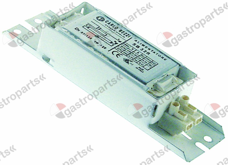 401.141, electrical ballast 30W 230V for fluorescent lamps