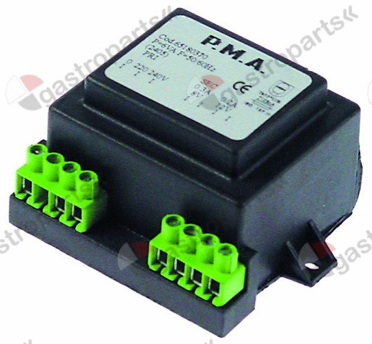 401.339, transformer primary 220/240V secondary 8/12V 6VA