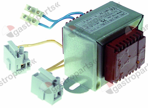 401.594, transformer primary 230V secondary 24/11.5V 75VA