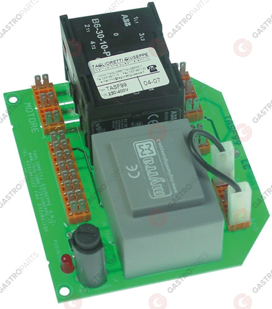 401.613, power PCB PP4-PP8-PP15 Expo 230/400V type TASF99