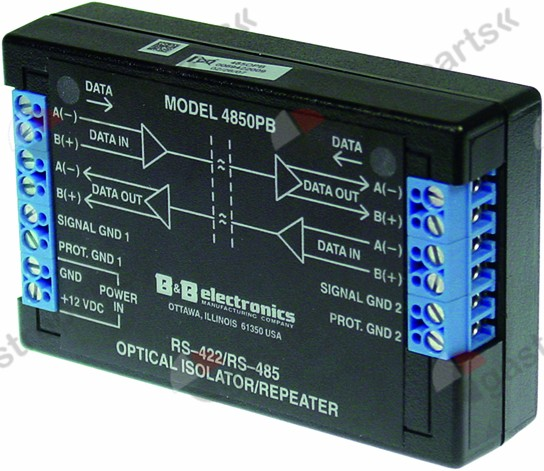 401.624, amplifier communications system for RS485