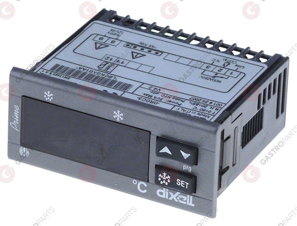 402.157, electronic controller DIXELL XR20C-0R0C3 mounting measurements 71x29mm built-in depth 76mm