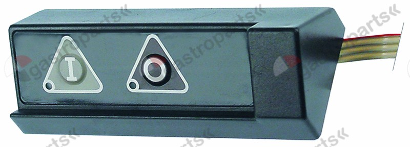 403.002, keypad unit slicer buttons 2 MIRRA/SAN-DANIELE/YORK L 120mm W 48mm