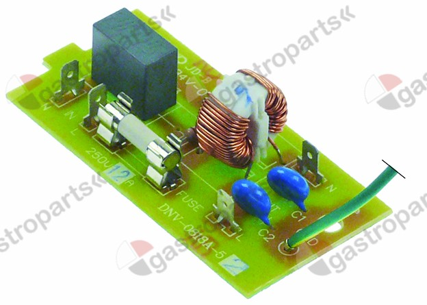403.188, line filter microwave for GMW1025 250V 50/60Hz