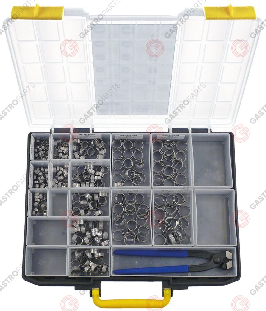 403.242, assortment case one ear clamps