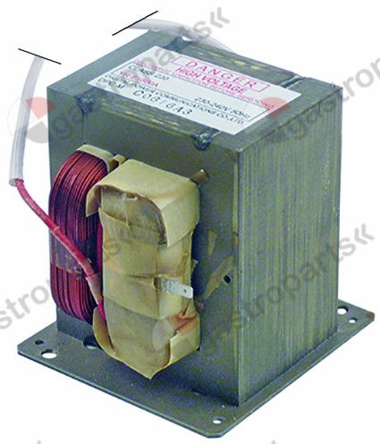 403.369, HV transformer primary 230V connection cable 50Hz