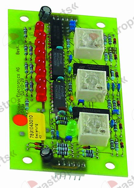 404.003, keypad PCB for induction device