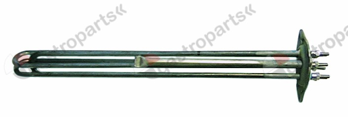 415.001, heating element 4500W 230V mounting ø 47,5mm heating circuits 3 L 316mm W 35mm H 34mm