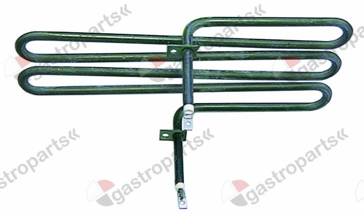 415.077, heating element stock pot 1300W 230V L 280mm W 150mm H 40mm connection male faston 6.3mm