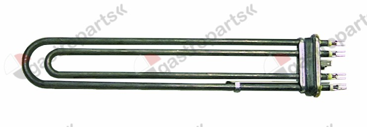 415.448, heating element 6000W 400V heating circuits 2 flange 70x18mm L 370mm W 65mm