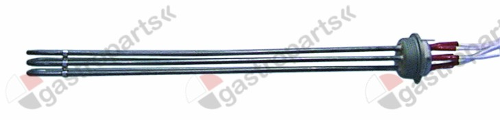 415.501, heating element 9000W 230V heating circuits 3 thread 1½