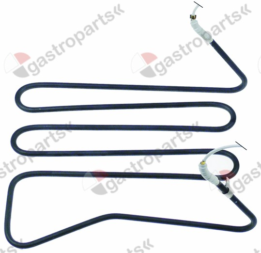 415.541, heating element 2000W 230V heating circuits 1 mounting pos. left L 250mm W 210mm H 120mm