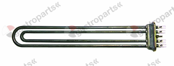 415.552, heating element 3000W 400V heating circuits 2 flange 70x18mm L 365mm W 64mm
