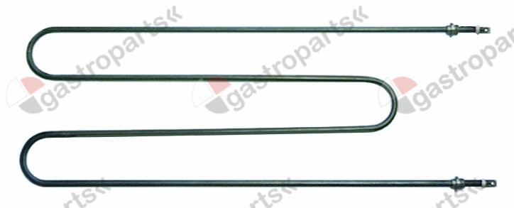 415.588, heating element 800W 415V L 575mm W 200mm thread 1/4