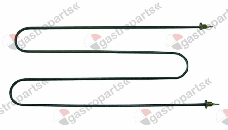 415.635, heating element 1000W 230V heating circuits 1 L 455mm W 210mm connection ø4 tube ø 6,5mm