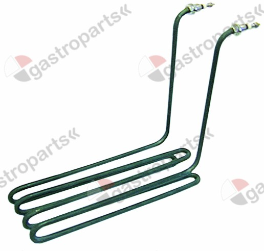 415.924, heating element 3000W 230V heating circuits 1 L 297mm W 86mm H 243mm L1 22mm L2 275mm H1 207mm