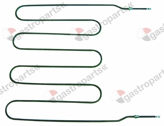 415.942, heating element 2280W 230V L 600mm W 610mm L1 30mm L2 50mm L3 520mm W1 20mm W2 570mm thread 1/4