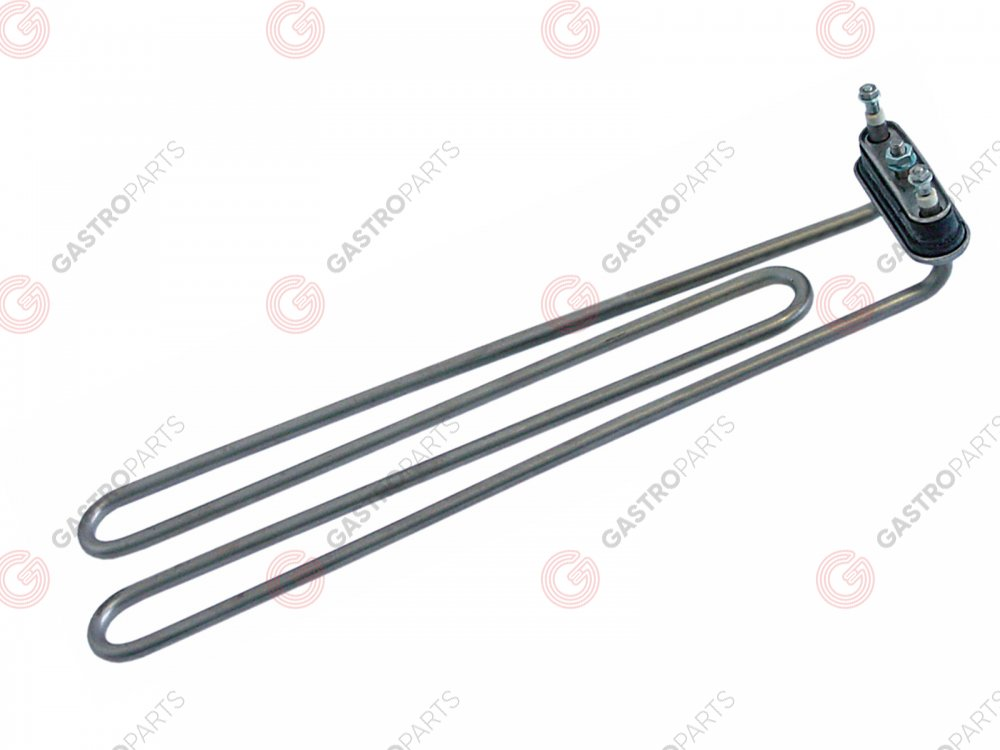 416.382, FAGOR heating element 2800W 230V heating circuits 1 flange 70x18mm L 370mm W 102mm H 27mm Z203601