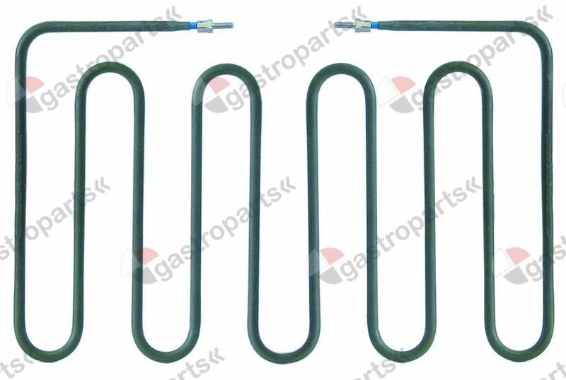 416.590, heating element 1150W 230V L 192mm W 304mm H 18mm W1 98mm W2 108mm connection length 24mm