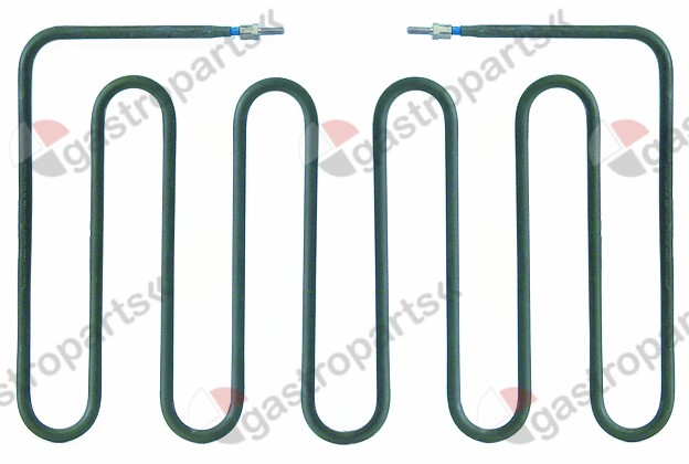 416.591, heating element 875W 230V heating circuits 1 L 190mm W 308mm H 18mm W1 108mm W2 92mm