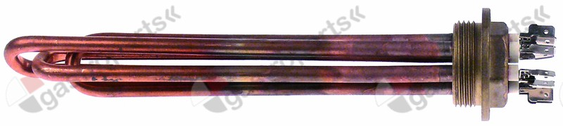 417.062, heating element 3000W 230/400V heating circuits 3 thread 1¼