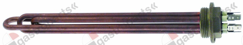 417.063, heating element 4500W 230V heating circuits 3 thread 1¼