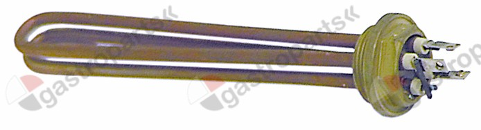 417.080, heating element 2400W 220V heating circuits 1 thread 1½