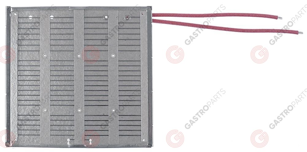 417.536, hot plate 400W 120V L 145mm W 150mm H 5mm cable length 175mm mounting pos. left for toaster