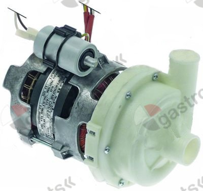 499.358, pump inlet o 28mm outlet o 26mm type 230V 50Hz 1 phase 0,24kW rotation direction left