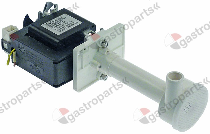 500.048, pump REBO type MH50F 60W 230V 50Hz outlet ø 18mm L 137mm rotation direction right for ice maker