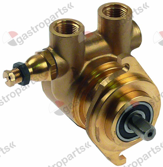 500.078, pump head FA204 FLUID-O-TECH L 75mm 200l/h connection 3/8