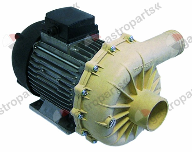 500.098, Replaced by 499226 / pump inlet ø 62mm outlet ø 49mm type B215.2500230/400V 50/60Hz 3 phase 1,5kW 2HP L 332mm