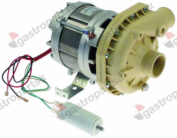 500.114, pump inlet ø 45mm outlet ø 40mm type C5801 230V 50Hz 1 phase 0,75kW 1HP L 225mm