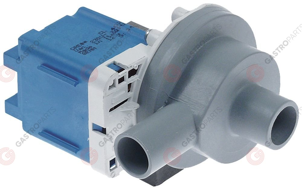 500.201, drain pump inlet ø 24mm outlet ø 22mm 230V 100W