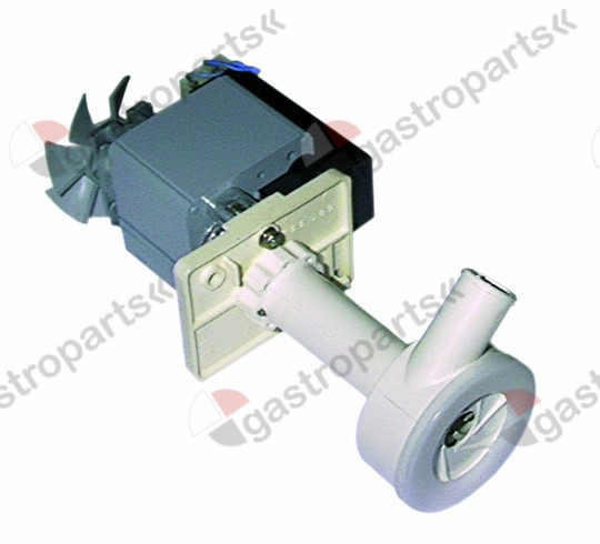 500.203, pump REBO 60W 230V 50Hz outlet ø 21mm L 110mm rotation direction right for ice maker