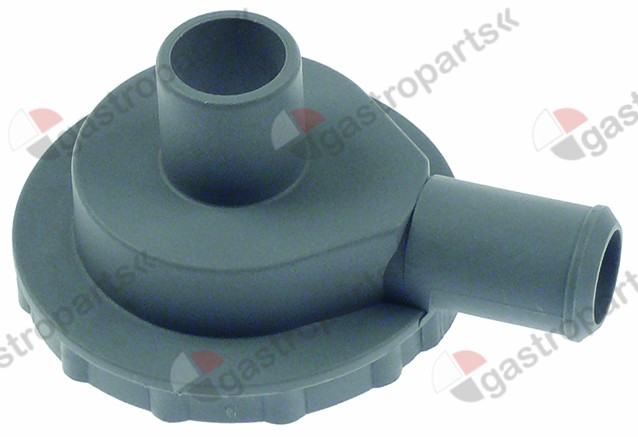 500.303, body inlet ø 24mm outlet ø 22mm suitable for drain pump