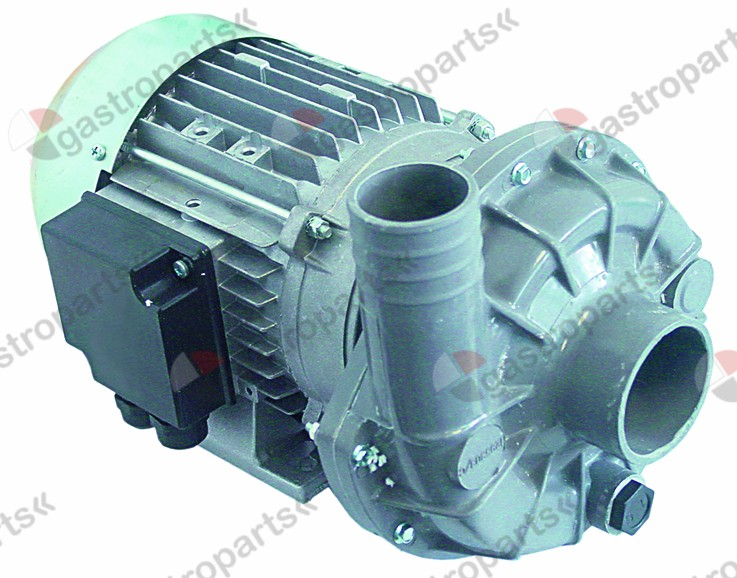 500.323, pump inlet ø 63mm outlet ø 47mm type 1227.2721 230/400V 50Hz 3 phase 2kW 2,7HP L 335mm