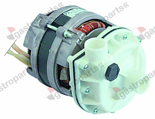 500.327, pump inlet ø 30mm outlet ø 30mm type B287.1650 230V 50Hz 1 phase 0,24kW 0,33HP L 180mm