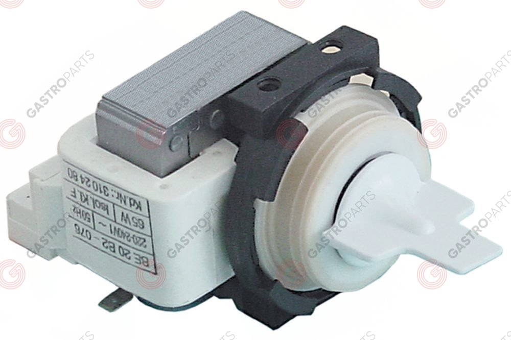 500.547, drain pump without lid 230V 65W 50Hz HANNING type BE20B2-076