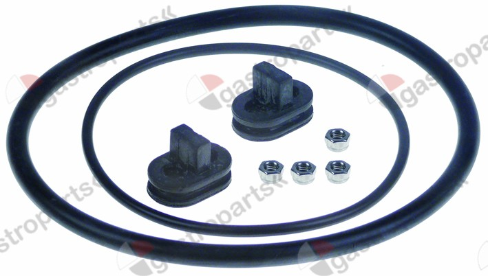 502.060, gasket set for drain unit